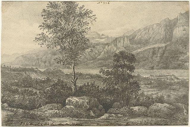 Bonneville, cerca de Ginebra en el camino a Chamonix. Sir John Herschel