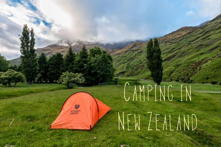 Camping in New Zealand - Camping tips for travel in the amazing country of New Zealand!