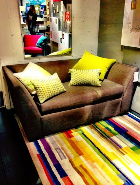 Beautiful furniture resides here - selections from CB2 - Sijalica