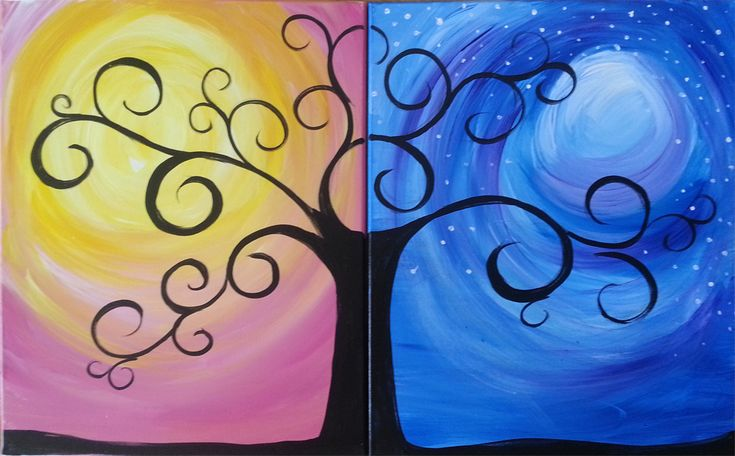 PopUp Paint Party – Tree of Life! Couple's Paint!