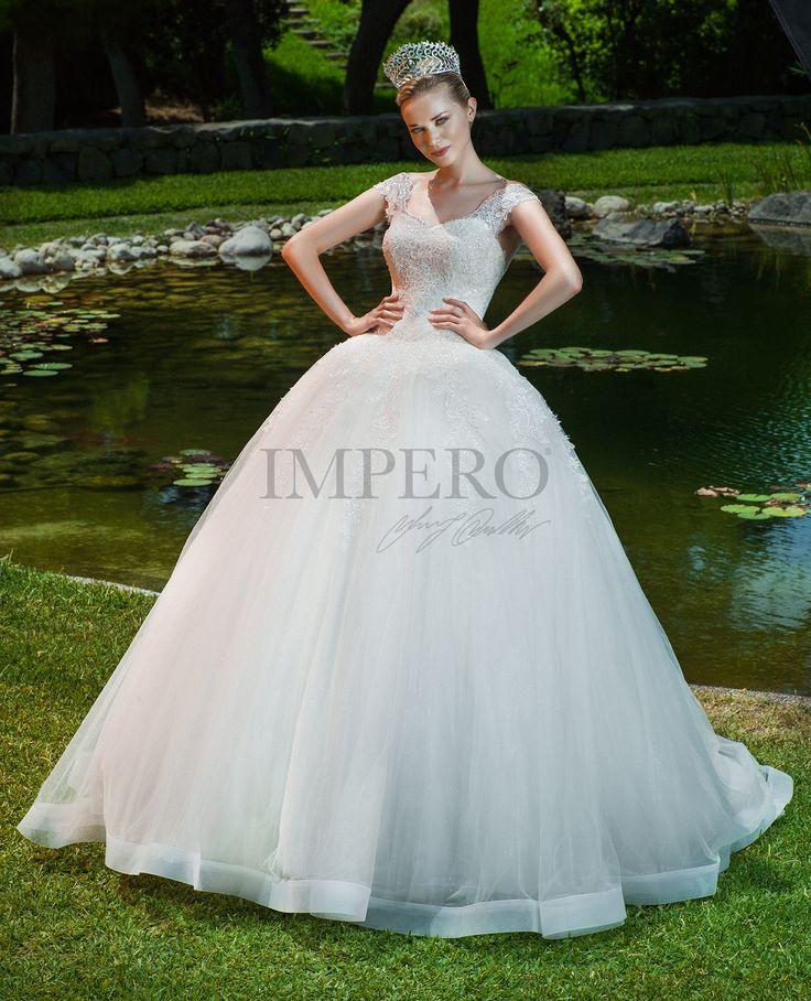 ELISA 3  #sposa #abiti #dress #bride #bridal #wedding #2017 #impero #matrimonio #nozze