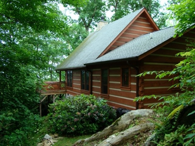 Gorgeous Two Bedroom Two Bath Log Cabin In A Private Valle