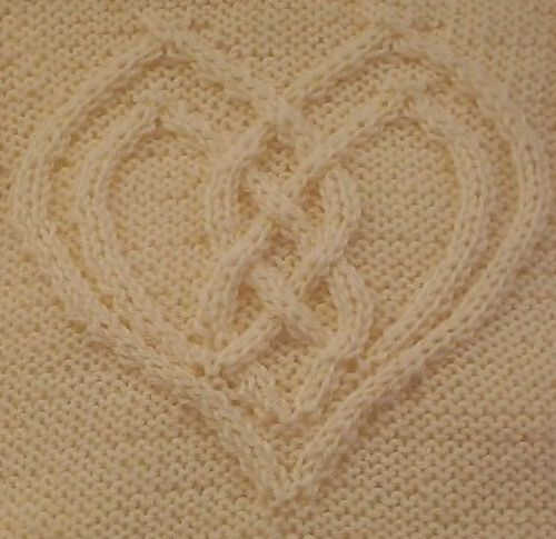 Cabled heart