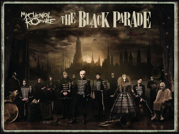 My Chemical Romance Black Parade Poster<< THIS LITERALLY COMES WITH THE CD LMAO YOU DONT NEED TO SPEND 17 DOLLARS ON THIS IF YOU JUST GET TTBP FOR 6 BUCKS