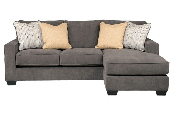 Sofa with attached chaise new house ideas pinterest for Sofas with chaise attached
