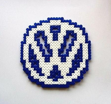 Volkswagen Perler Bead Sprite - Sprites N Bytes