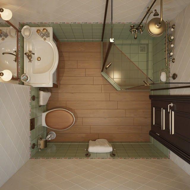 маленькая ванная комната фото 3
