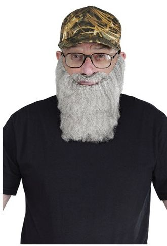 """""""Duck Hunting Hat Grey Beard Kit"""" aka """"Totally not Si from Duck Dynasty"""" 