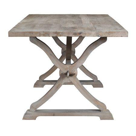 $646 mesa de separacion, joss and main, Albridge Dining Table in Gray Wash
