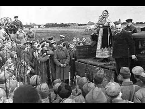 Russian love song Katyusha in Spanish. La Banda del Viejo Mundo