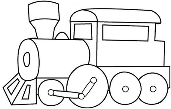 Easy Coloring Page Train Easy Coloring Pages Train Coloring Pages Cars Coloring Pages