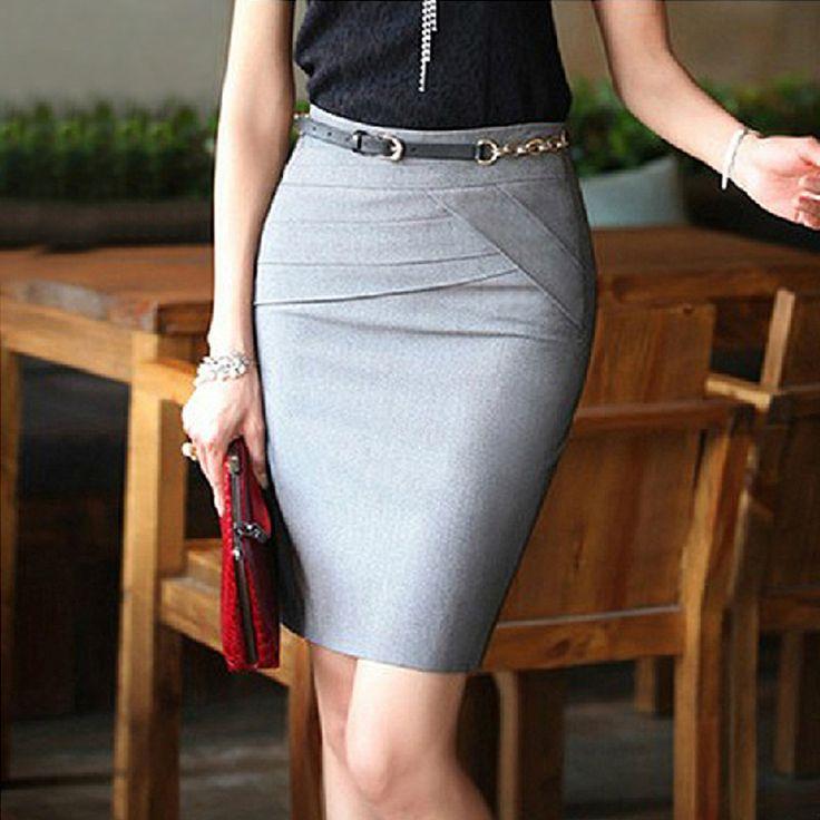 Short skirts at work