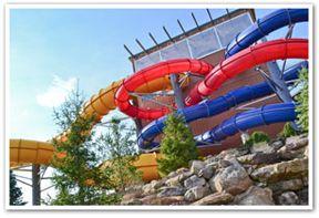 H20ooohh! Indoor Family Waterpark at Split Rock Resort & Golf Club in Lake Harmony, Pennsylvania