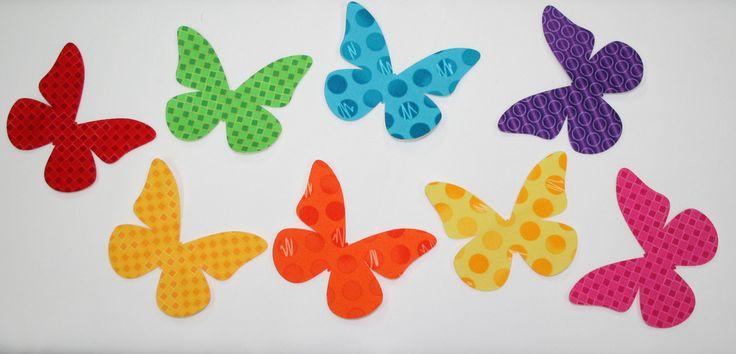 """Fab Shapes 3"""" Butterflies"""
