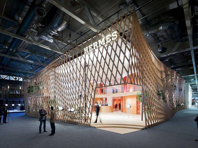 Pavilhão da Hermès na Baselworld 2013