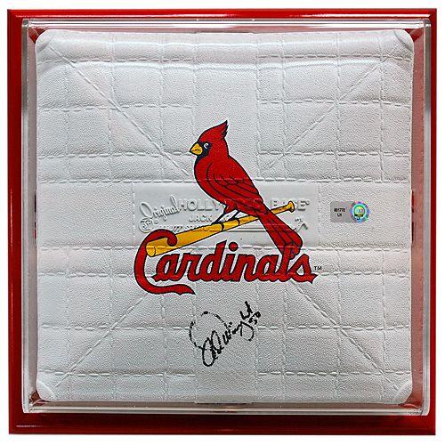 St. Louis Cardinals Adam Wainwright Autographed & Framed Mini BaseChocolates Trifles, Frames Minis, Cardinals National, Wainwright Autograph, Autograph Frames, Minis Based, Adam Wainwright, Louis Cardinals, Cardinals Adam