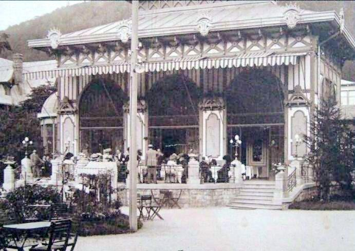 SINAIA - Cofetaria CAPSA - 1910