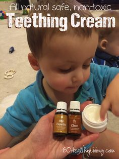 Young Living Essential Oils: Toddler Teething Relief with Clove and Copaiba Essential oil Young Living for inflammation and pain