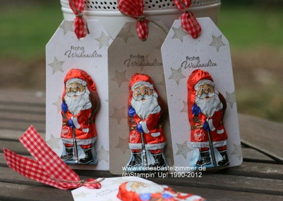 Stampin' Up!-Merry Minis-Perfekte Pärchen-Weihnachten-Geschenkanhänger-Tags
