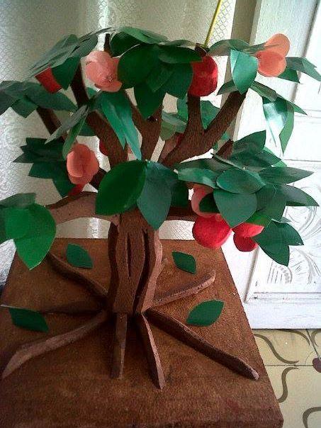 Maquetas escolares arbol de la vida maquetas de todo for Como obtiene su alimento un arbol