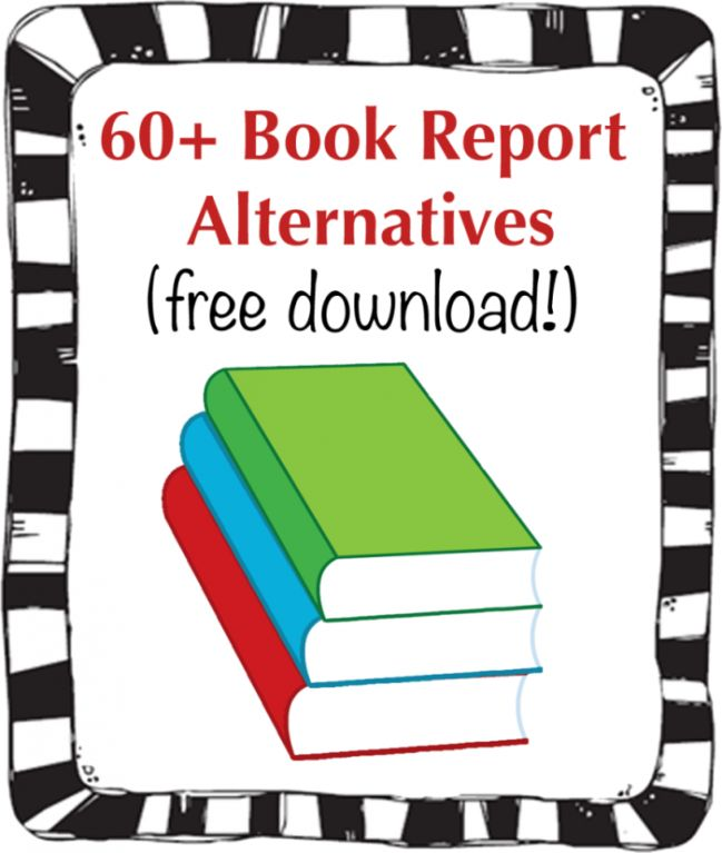 list of alternative book reports The most dreaded word in school reading for students: book reports teachers   they get a convenient printable list of books that match their level and interests.