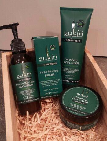 Sukin Super Greens skincare