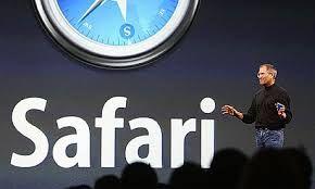 Safari Web Browser Buatan Apple Inc.| Safari adalah sebuah penjelajah web buatan Apple Inc. yang awalnya ditujukan khusus bagi sistem operasi Mac OS. Safari dibundel bersama Mac OS X dan merupakan penjelajah web default di sistem operasi tersebut sejak Mac OS X v10.3. Sebelumnya dari tahun 1997 hingga 2003, Mac OS X menggunakan Internet Explorer for Mac sebagai penjelajah web default.
