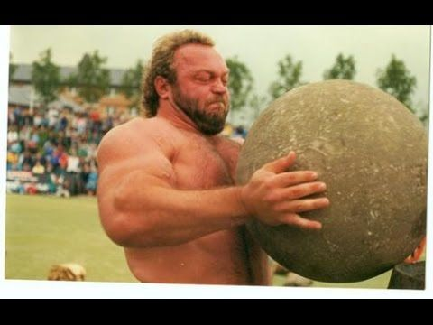 Bill Kazmaier, my first strongman hero.
