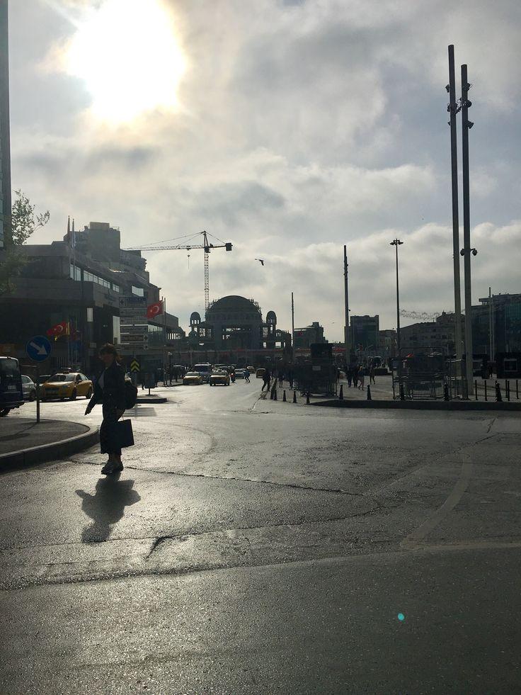 Taksim cami inşaatı Mayıs 2018