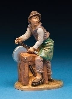 2013 Limited Edition - Silvanus, the Knife Sharpener - Numbered