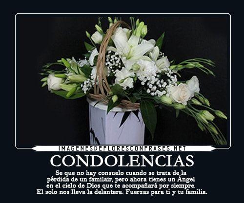 Resultado de imagen para mensajes de condolencias para una amiga