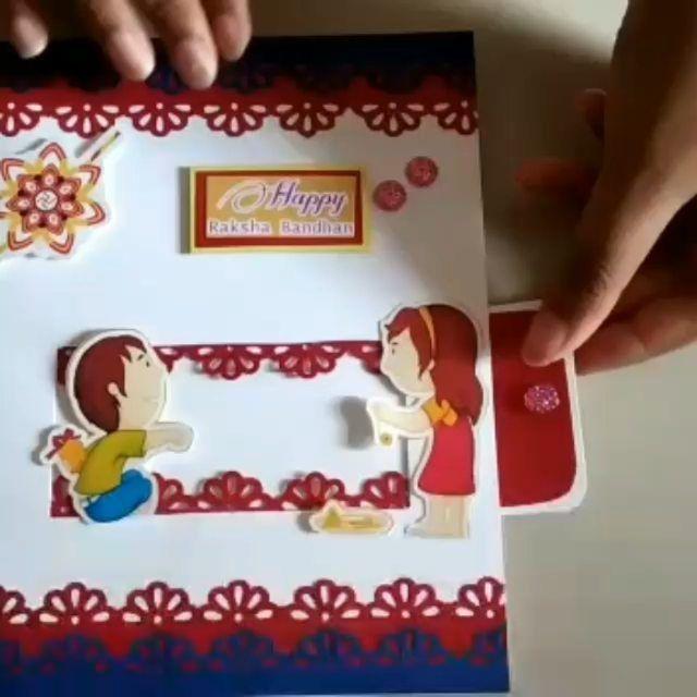 Rakshabandhan Special Card Dm For Orde Coustomizerakhi Rakhi