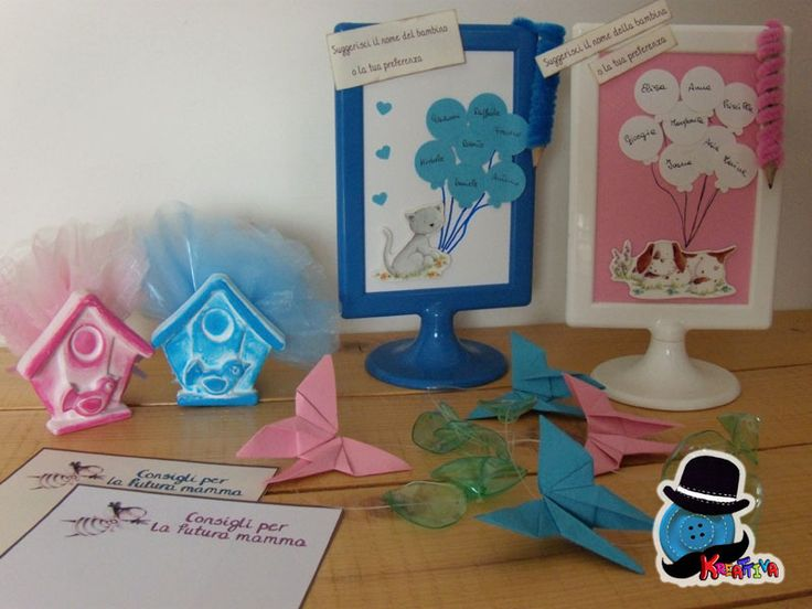 Kreattiva: Tutorial e template per organizzare un baby shower creativo