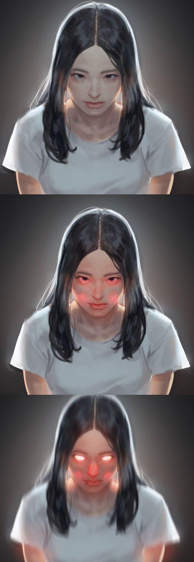 表情帝 성수민 日常练习更新 来自三叠色...