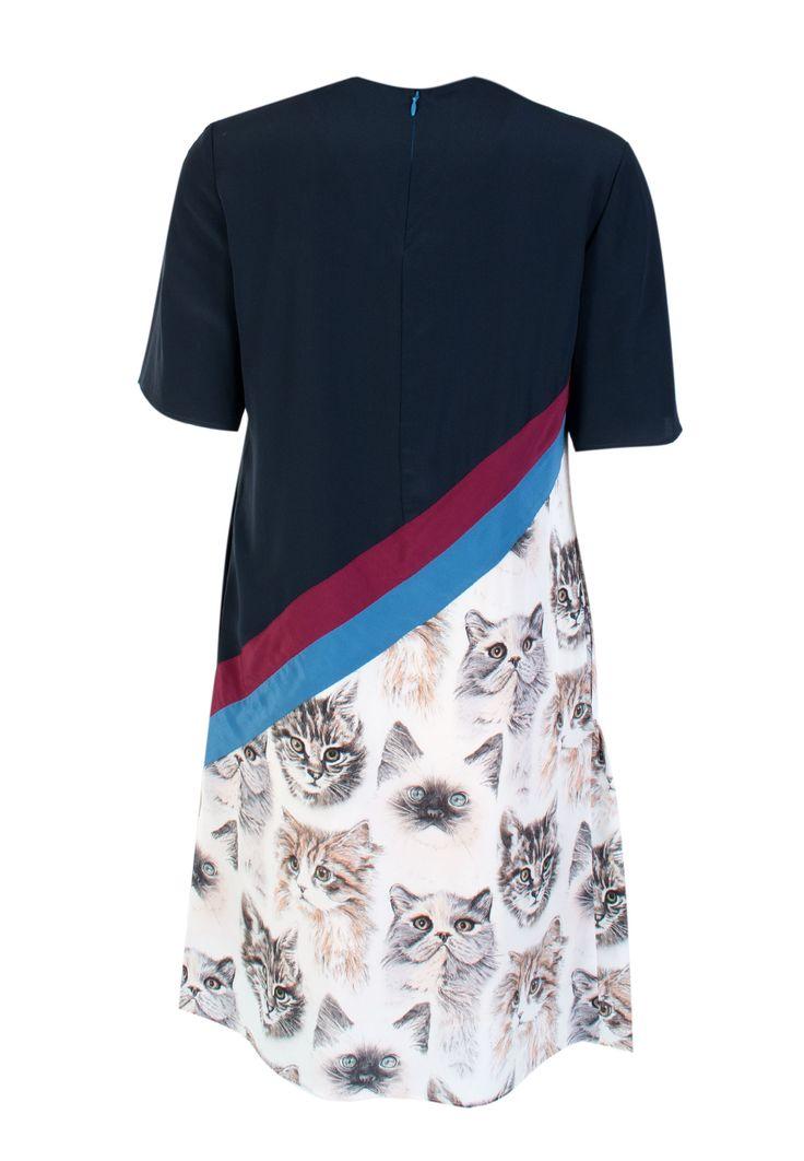 Разноцветное Платье STELLA McCARTNEY - купить по цене 83900 рублей - Elyts.ru