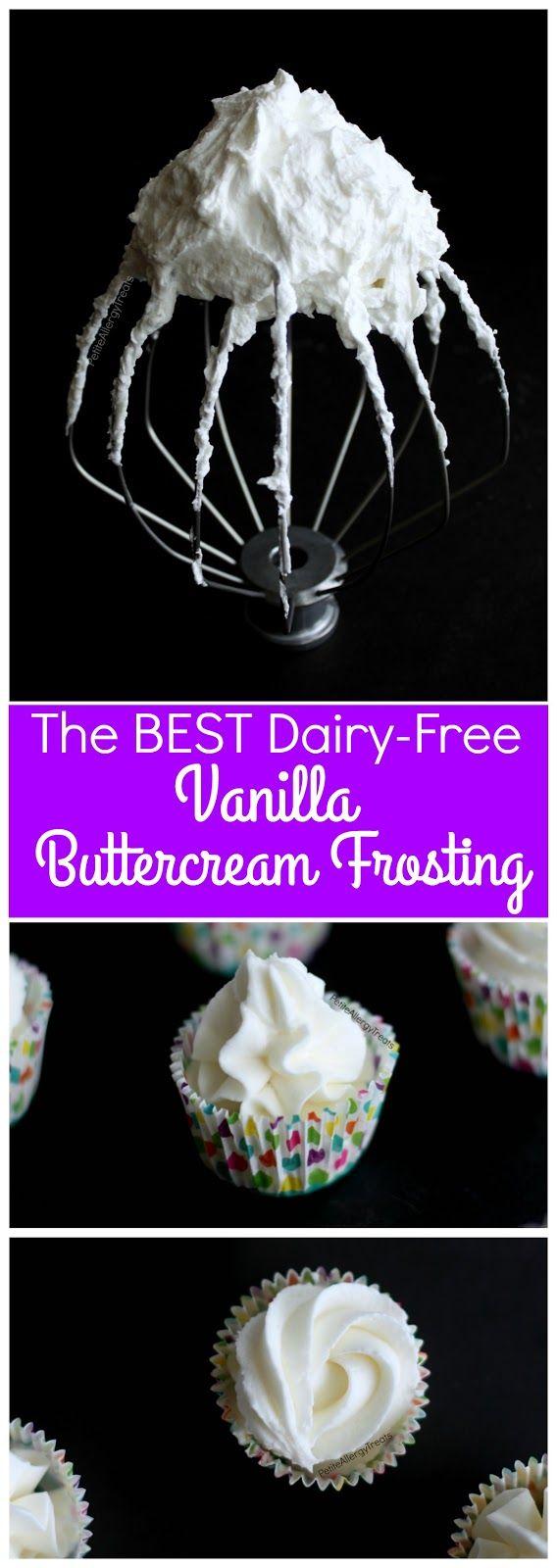 Best Easy Dairy Free Buttercream Vanilla Frosting