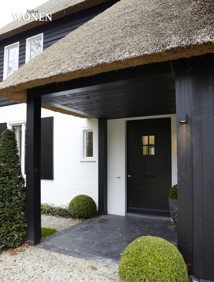 Stijlvol Wonen: het magazine voor warm-hedendaags wonen - #blackwhite #architectuur#
