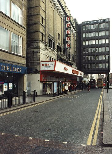 Odeon cinema Pilgrim Street Newcastle upon Tyne. 1977/ queuing around the block with Dad to see my first Star Wars movie. I am going to cry. Again.
