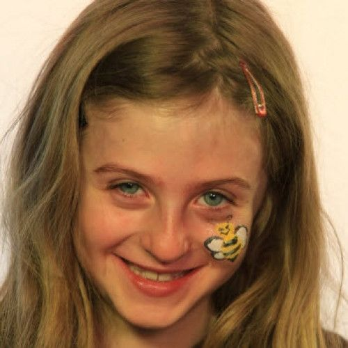 Bumble Bee Face Paints & Glitter
