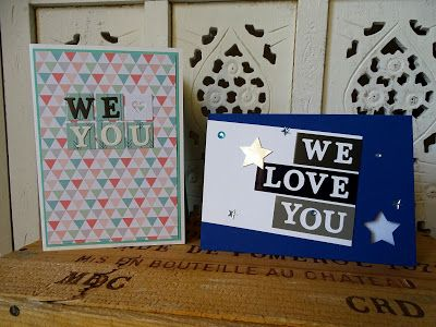 Cards from parents to kids for Valentine's day - veronicard #handmade #cardmaking #papercraft #veronicard #love #valentinesday