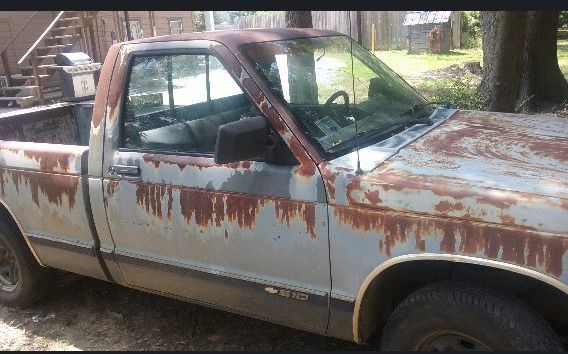 1991 Chevrolet S 10 Pickup Truck For Sale By Owner In Tx Under