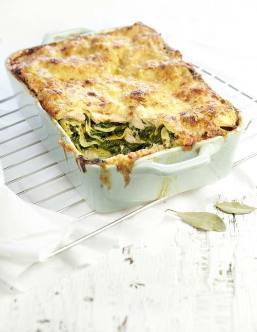 Lasagne au saumon et aux épinards (sans lactose) | Colruyt