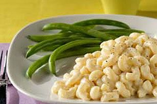 Cottage Macaroni & Cheese recipe    Time to try a less fattening version of Mac & Cheese... I'll definitely be adding a bit of onion powder and nutmeg to make it taste more like my home made mac and cheese...