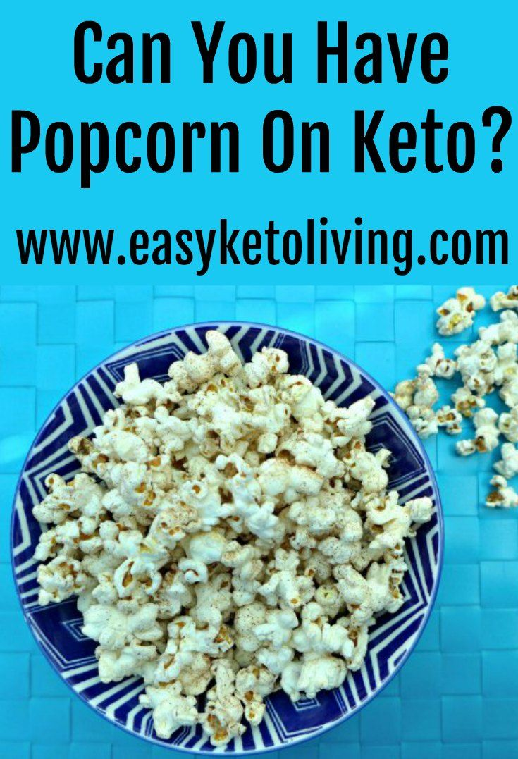 low carb diet popcorn