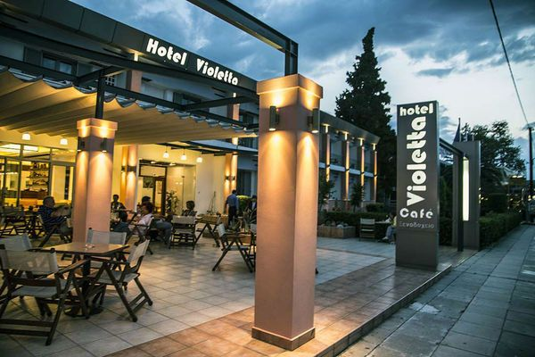 Grecja - Hotel Violetta Autokar