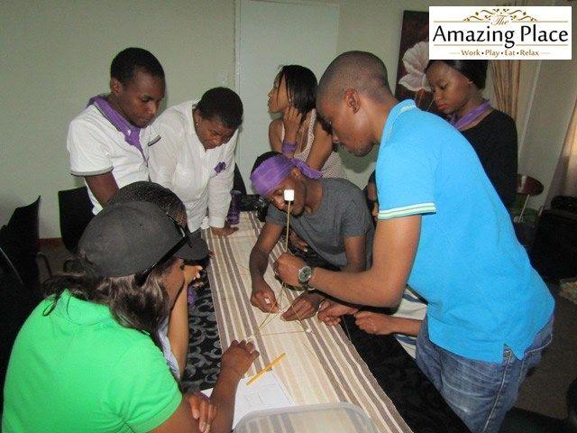 Merieux NutriSciences Corporate Fun Day Team Building Event | The Amazing Place