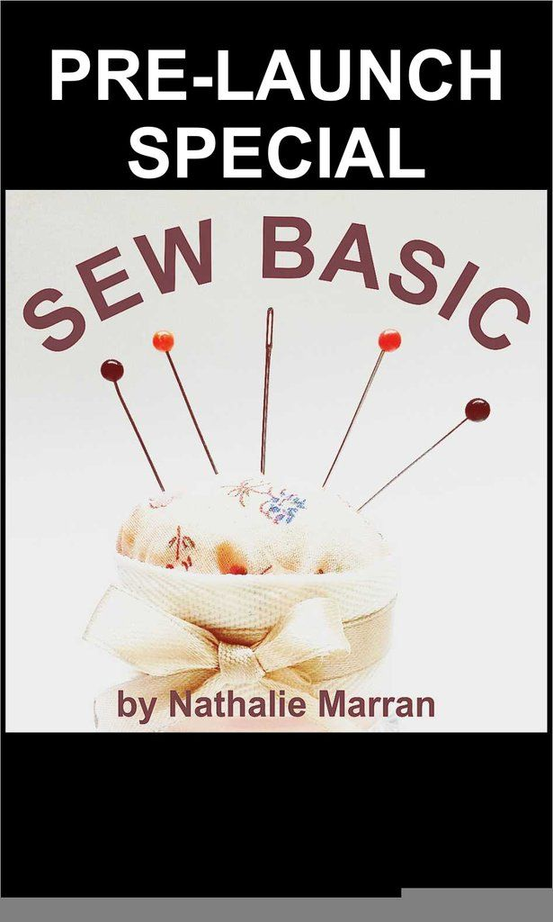 PRE-LAUNCH SPECIAL: Sew Basic eBook
