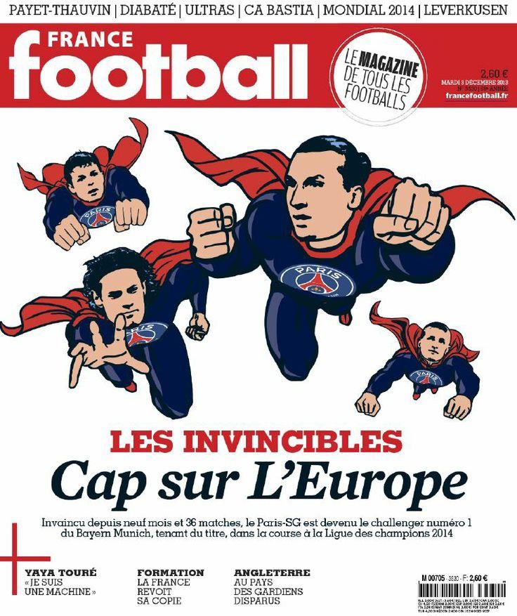 #PrimeraPlana France Football Mardi N°3530 - 3 Décembre 2013