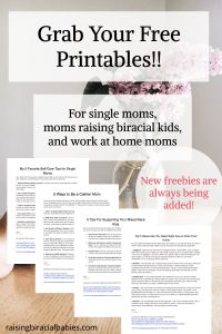 Free Resources | single mom | biracial children | work at home mom | resource library | freebies