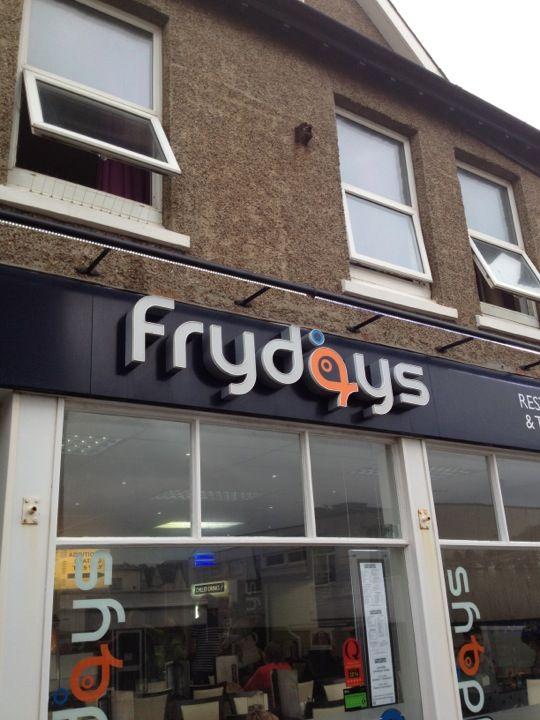 Frydays Fish & Chips in Seaton, Devon